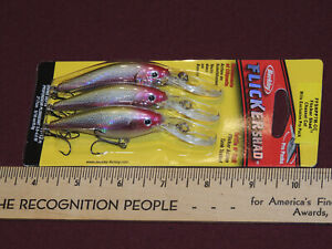 1 New 3 Pack Berkley Flicker Shad Lures 3