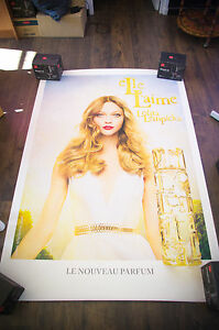 LOLITA LEMPICKA ELLE L'AIME 4x6 ft Shelter Original Fashion Advertising Poster