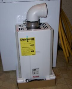 Rinnai V75IP 7.5 GPM Indoor Tankless Gas Water Heater with Vent