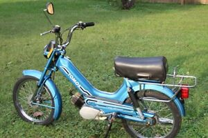 1980 Vintage 1980 Tomos 49cc Moped Beautiful Scooter Mini Bike Bullet Excellent