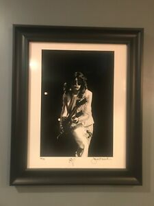 Jimmy Page Signed and Numbered 16x20 Silver Gelatin Fine Art Print #3850