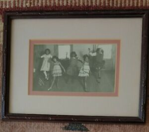 Vintage Framed James Van Der Zee Print Dance Class
