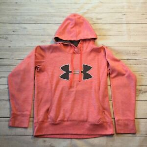 Under Armour Hoodie Sweater Pullover Pink Youth Girls Size Large #9