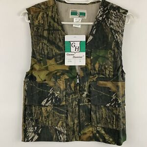 Game Hunter Youth Boys M Camo Vest Mossy Oak Break Up Hunting Paintball New