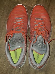 Mens Under Armour Highlight Training Shoe  Orange And Grey Size 14