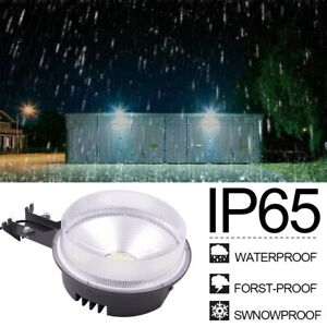 70W LED Barn Light Dusk to Dawn 9100lm Outdoor Area Light Photocell Waterproof