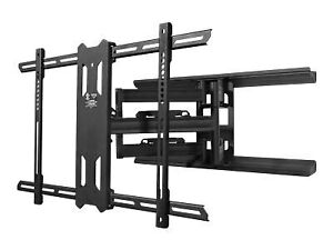 Kanto Full Motion PDX680 - Wall mount for LCD TV (full-motion) - solid steel -