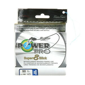 Power Pro Braided Fishing Line 50lbs 150yds Blue New