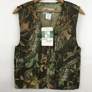 Game Hunter Youth Size M 1012 Hunting Vest Camo Advantage Timber Paintball New