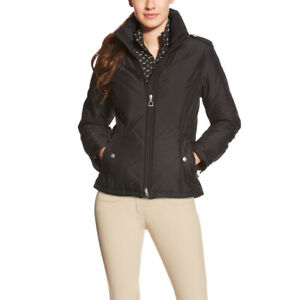 Ariat Womens Terrace Insulated Jacket - Black - Choose Size