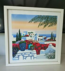 Jean Claude Carsuzan Lithograph Greece PENCIL SIGNED AND NUMBERED By ARTIST $95.00