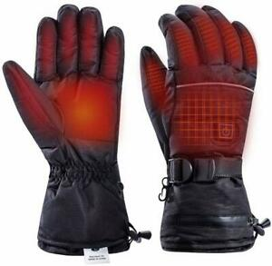 Heated Gloves Rechargeable Electric Heated Gloves 3 Levels Temperature Control