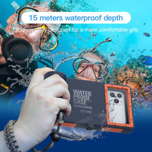49FT Underwater Waterproof Diving Case Camera Cover For iPhone 11 Pro Max XR XS