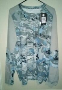 Under Armour CoolSwitch Thermocline Hybrid FISHING Shirt Hydro Camo 4XL NWT $60