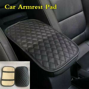 Waterproof Anti dirty Car PU Leather Armrest Pad Cover Center Console Cushion $9.45