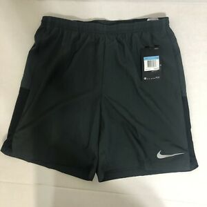 "Nike Men's Flex Challenger 7"" Running Shorts AA4969-060 Gray Black Size S M L"