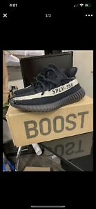 Yeezy Boost 350 Black Oreos Blackwhite US Man's 10. Authentic.