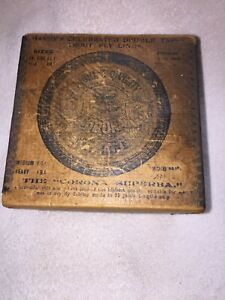 Hardy Metal  Edge Card Reel Box 1900s 4 12