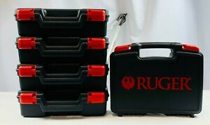 Factory Ruger MKIV Hard Case Lot of 5