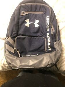 Under Armour Storm 1 Blue Heat gear Backpack Padded Laptop Padded Back