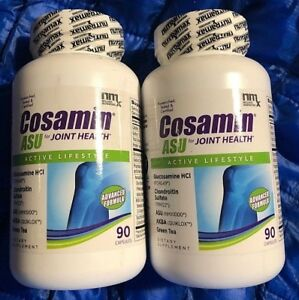 2 X Cosamin ASU Joint Health Dietary Supplement - 180 Total Capsules Exp 06/2020
