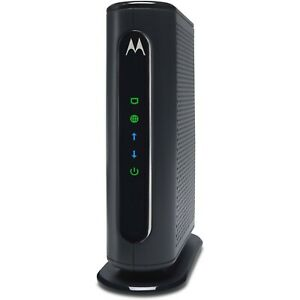 Motorola Cable Modem Router Comcast Xfinity Spectrum Cox Mediacom Internet GigE