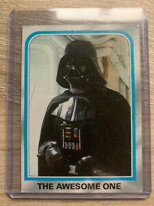 Star wars Collectors One Of A Kind Mis Cut 1980 Series 2 Near Mint NM Card #164