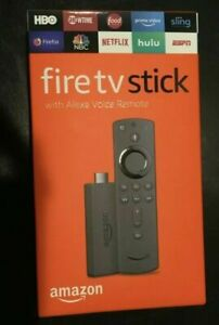 Amazon Fire TV Stick 2019 Alexa Voice Remote with TV Control Buttons BRAND NEW