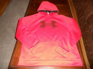 Under Armour boys hoodie size youth XL extra large sweat shirt loose fit Storm