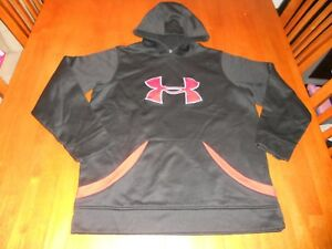 Under Armour boys hoodie size Y L youth large MINT sweat shirt