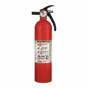 KIDDE 46614220MTL Fire Extinguisher, 1A:10B:C, Dry Chemical, 2 1 2 lb.