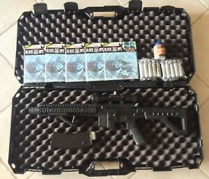 Crosman  Panther Arms DPMS SBR Full Automatic CO2 Ready to Shoot Bundle