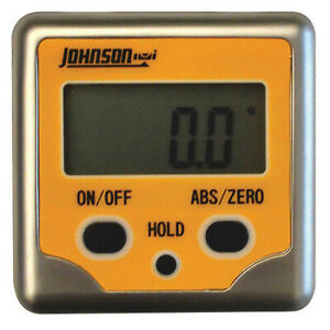 Johnson 1886 0200 Digital Angle FinderMagnetic3 Button $60.59