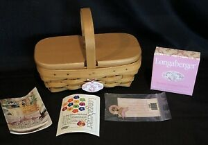 Longaberger Horizon of Hope Basket 2000 Classic Stain ~ Lid Tie-On Protector Pin