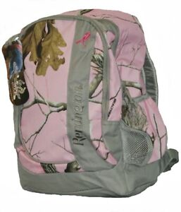 Remington Pink Camo Realtree Girls Women Day Backpack Breast Cancer Edition 1C6