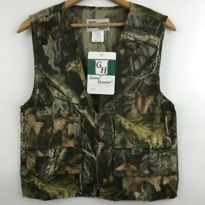 New Game Hunter Vest Youth Size L 1416 Advantage Timber Camo Hunting Paintball