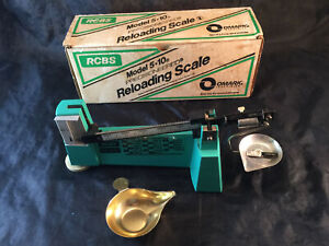 Vintage RCBS Reloading Powder Measure Scale 5-10 Box & Pieces ALL SHOWN SHIPS