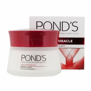 50g POND'S Age Miracle Firm & Lift Face & Neck Lifting Day Cream SPF30 Beauty