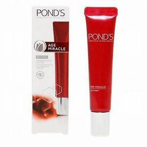 15ml Pond's Age Miracle Eye Cream Anti-Wrinkle Beauty Skincare Treatments Health