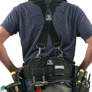 Gatorback B240B606 Electricians Tool Belt amp; Suspenders Combo. Sizes Small 3XL
