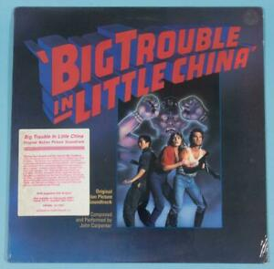 BIG TROUBLE IN LITTLE CHINA Original Movie Soundtrack John Carpenter SEALED MINT
