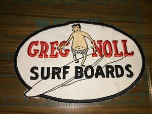 Greg Noll  Surfboards sew on embroidery patch - Jacket patch - large 7