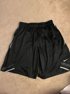 Mens XXL Nike Dri Fit Shorts Basketball Gym Running Shorts Black