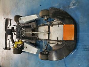 70's Vintage Lay Down Enduro Racing Go Kart - good condition