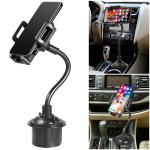 Universal Cup Holder Car Mount Cradle for Mobile Cell Phone GPS iPhone Samsung