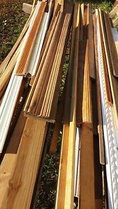 90 pieces Crown Molding Trim Wood Inside Outside deck rail Short Long New Used $39.99