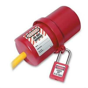 Master Lock 488 Large Rotating Electrical Plug Lockout Pack of 3