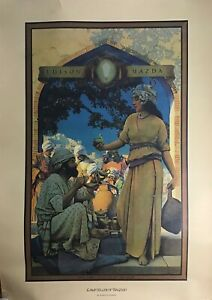 Maxfield Parrish - The Lamp Seller of Bagdad Portal Publications