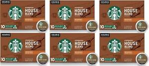 60 K CUPS Starbucks House Blend Medium Roast Coffee Best Before January 2020