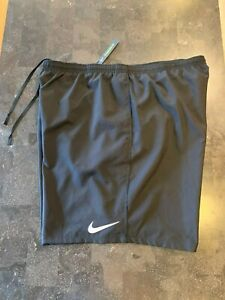 Nike Men's Dri-Fit Running Shorts Black SZ 2XL NWT $30.00